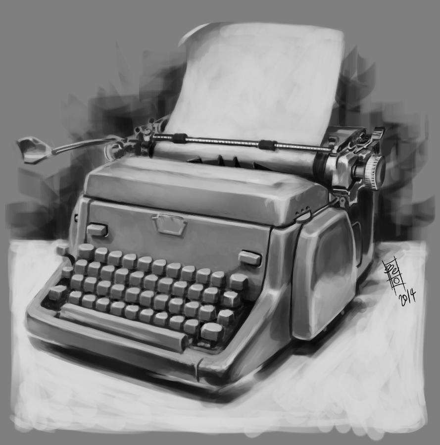Typewriter by Gigabeto