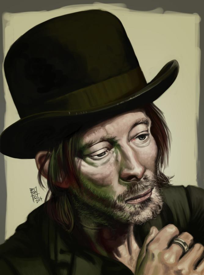Thom Yorke by Gigabeto