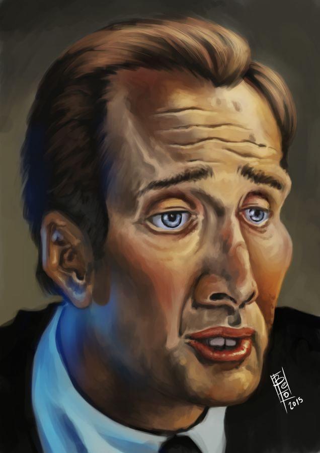 Nic Cage by Gigabeto