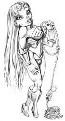 Wonder Woman 1-pre-reboot by yomark