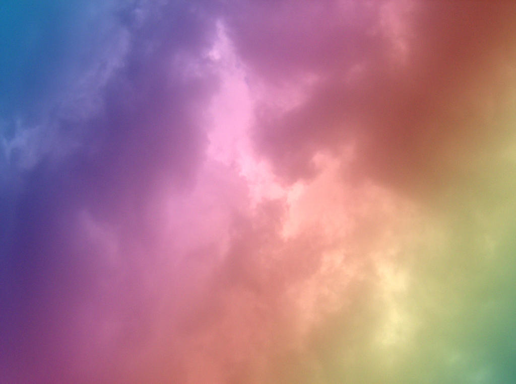 Rainbow Cloud Texture 0907 1 by OsorrisStock