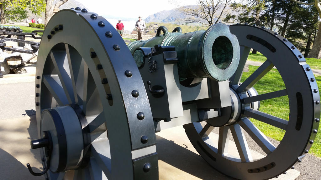 Stock Gettysburg Cannon 1 by OsorrisStock