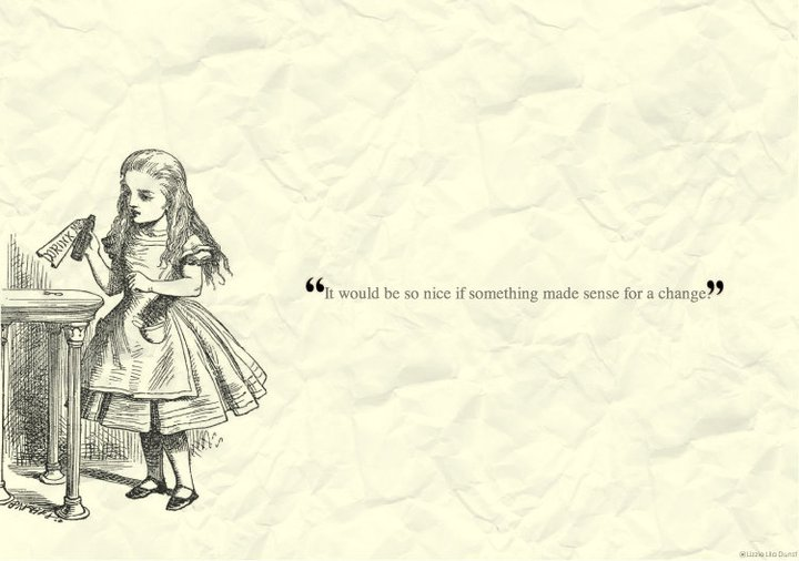 alice in wonderland wallpaper. by omgwtflizziee on DeviantArt