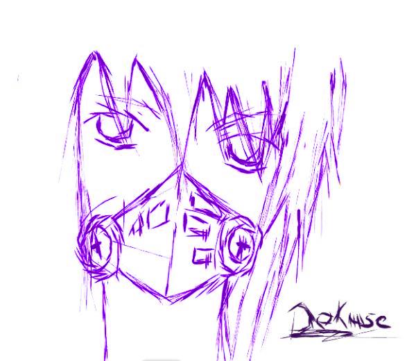 Hello there~  Dokuse_sketch_by_tsuinmarasaki-d4einko
