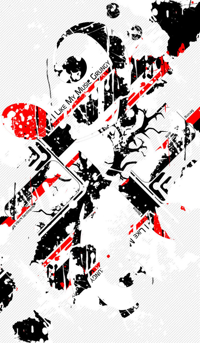 I like my music Grungy by thedobofdob