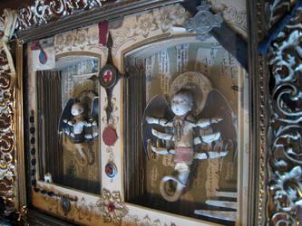 Lesser Deities Assemblage by bugatha1