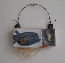 Tiny assemblage: Puffer Fish