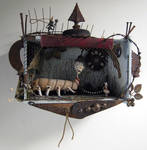 Assemblage: Oversized Pet by bugatha1