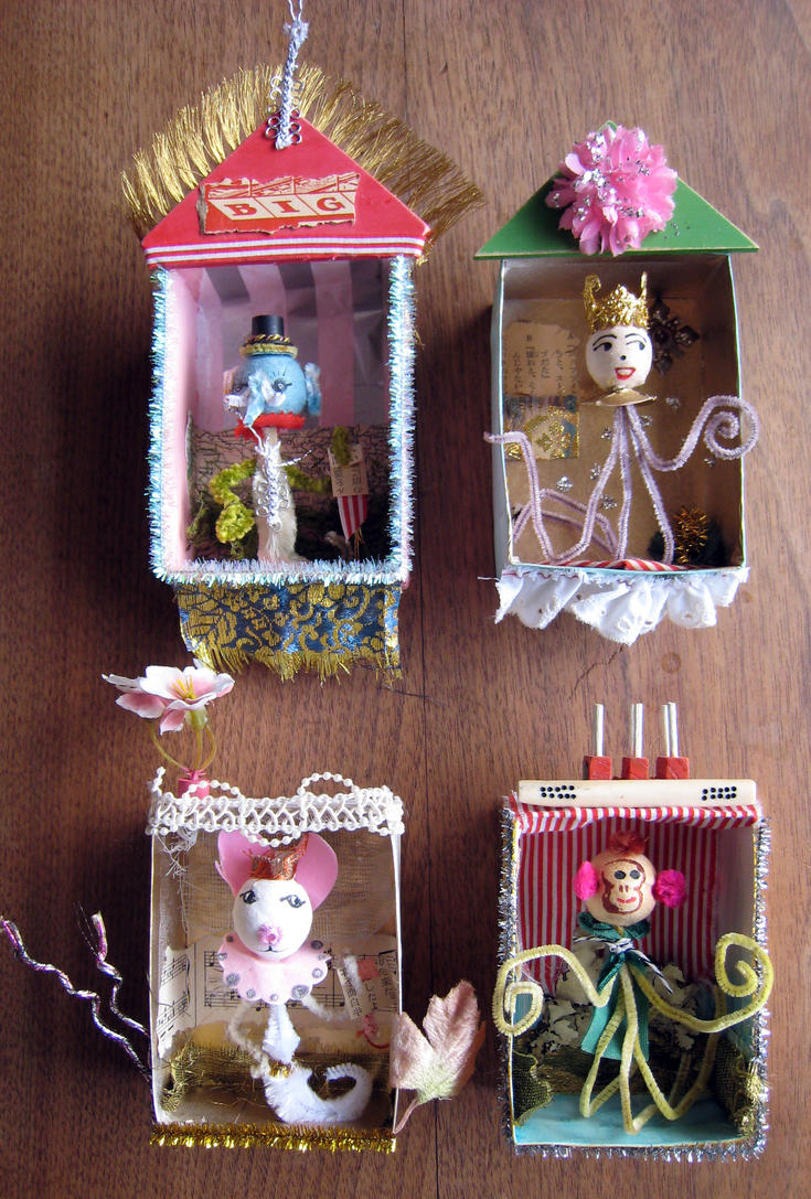 Assemblage: Misfit Toys 3 by bugatha1