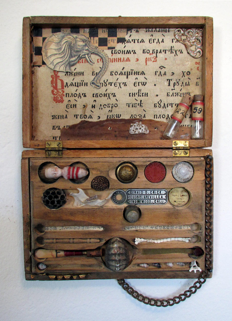 Assemblage: Small Specimen Box by bugatha1