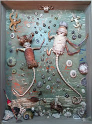 Assemblage: Water Babies