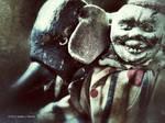 Non-Evil Clown with Friend