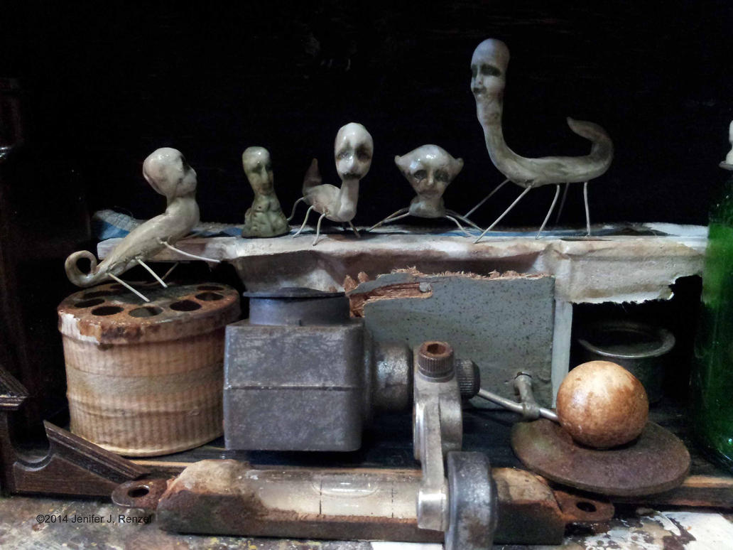 Assemblage: Insect People by bugatha1