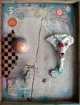 Assemblage: Colorful Creepy