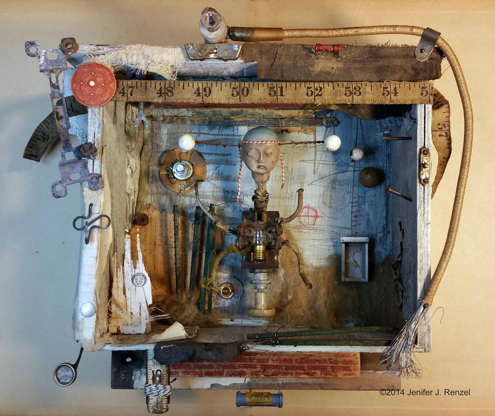 Assemblage: Automaton by bugatha1