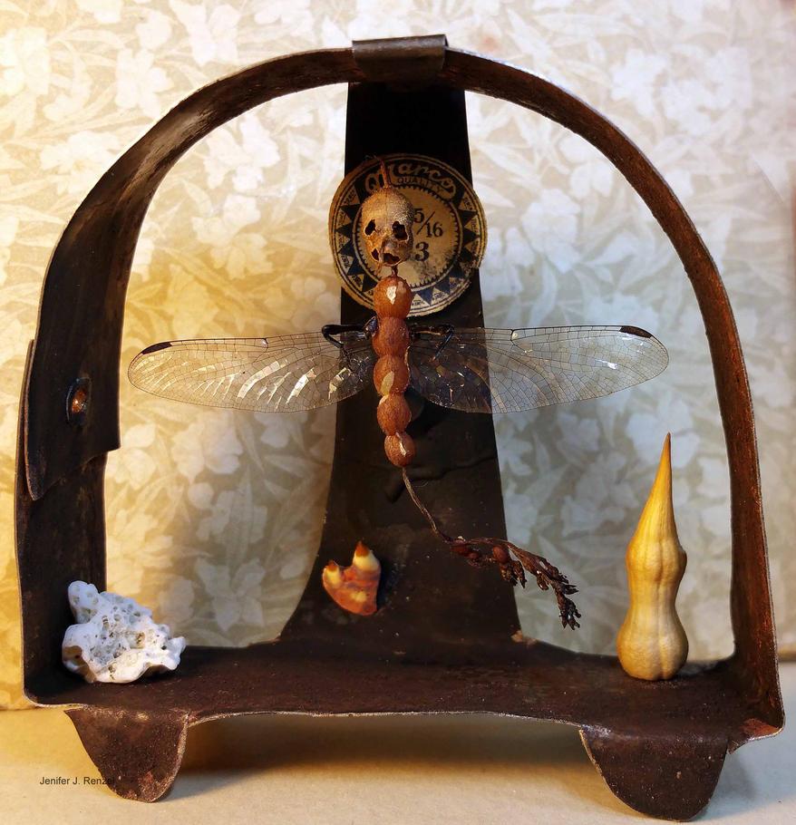 Assemblage: Gnat Altar by bugatha1
