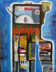 Outsider Art: Submersubot by bugatha1