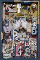 Assemblage: Dada Cabinet by bugatha1