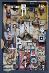 Assemblage: Dada Cabinet