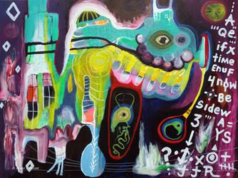 Outsider Art: Momma by bugatha1