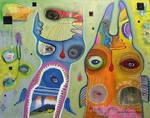Outsider Art: Owl Duelie
