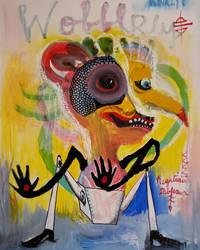 Outsider Art: Wobblry by bugatha1