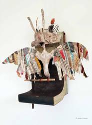 Assemblage: Babel Bird 2 by bugatha1