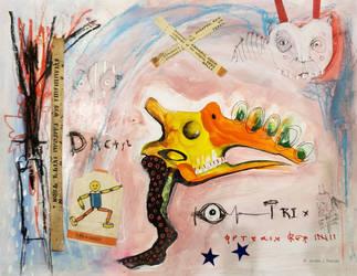Outsider Art: Dactyl by bugatha1