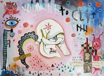 Outsider art: Scruncher by bugatha1