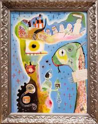 Outsider Art: Losar 100 by bugatha1