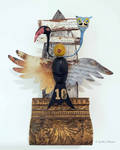 Assemblage: Bird Reliquary