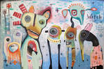 Outsider art: Watch Then Regroup
