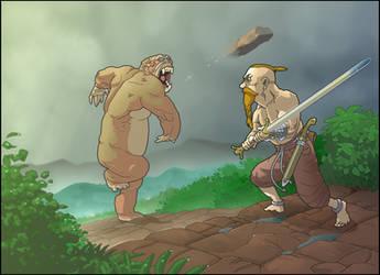 Bigfoot by zunnu