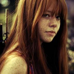 Hi, freckles by halucynowa