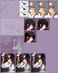 SAI Character Coloring Tutorial