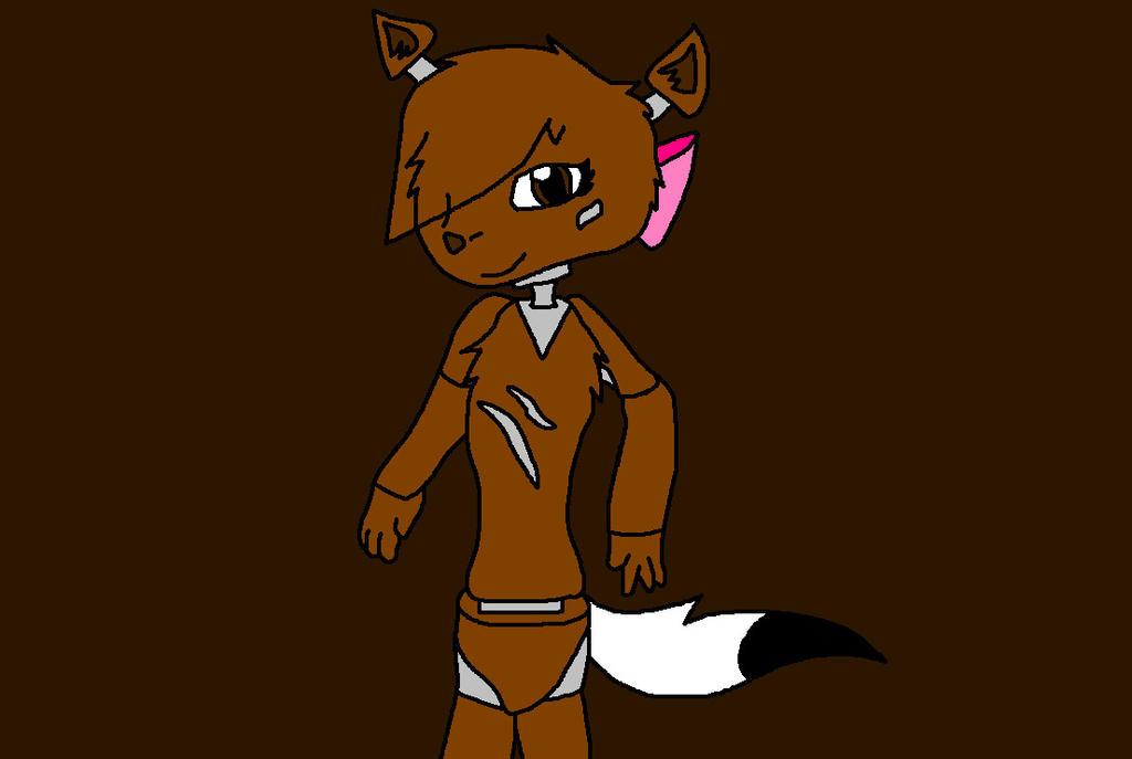 Jade the animatronic cat (FNaF OC) by BerrystarLover