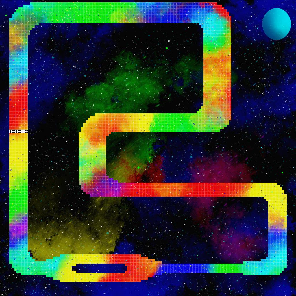 Rainbow Road Map Snes Version Request By Aandulce On Deviantart