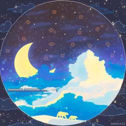 Luces de una noche serena by AAndulce