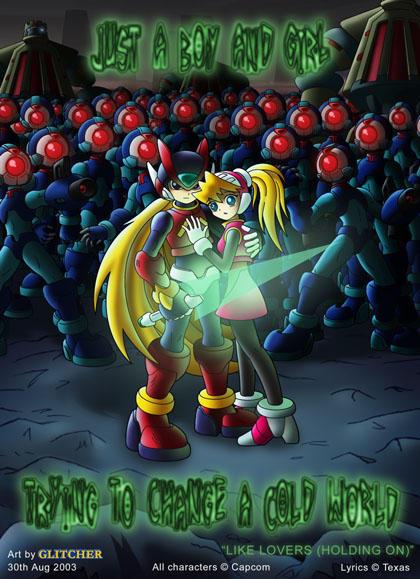Mega Man Zero by glitcher