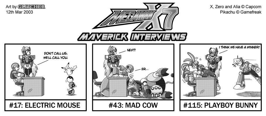 MMX7 Maverick Interviews by glitcher