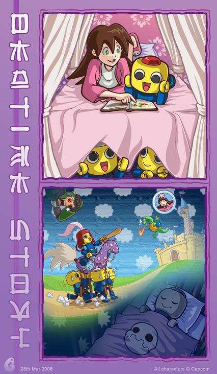 Bedtime Story by glitcher