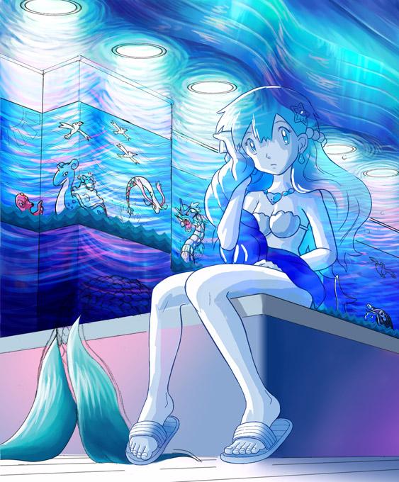Misty Mermaid - take 1 by glitcher on DeviantArt  Misty Mermaid -...