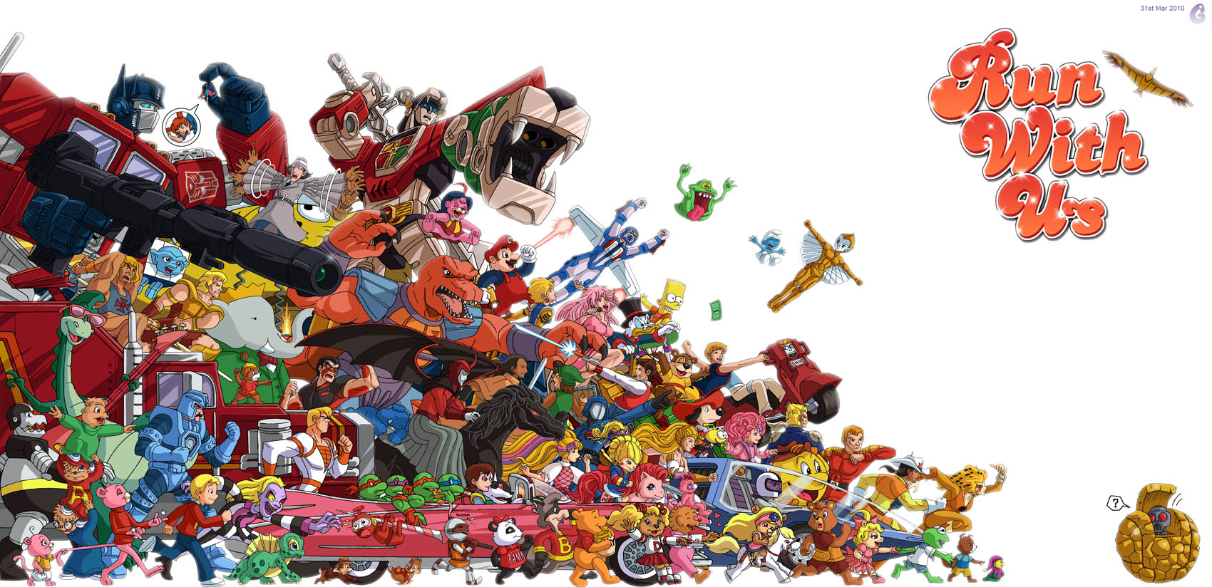 80s Cartoon Central  All your favorite cartoons from the