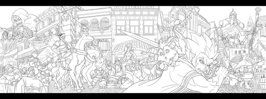 thundercats 2011 panorama wip by glitcher