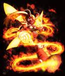 Blazing Firefly commission