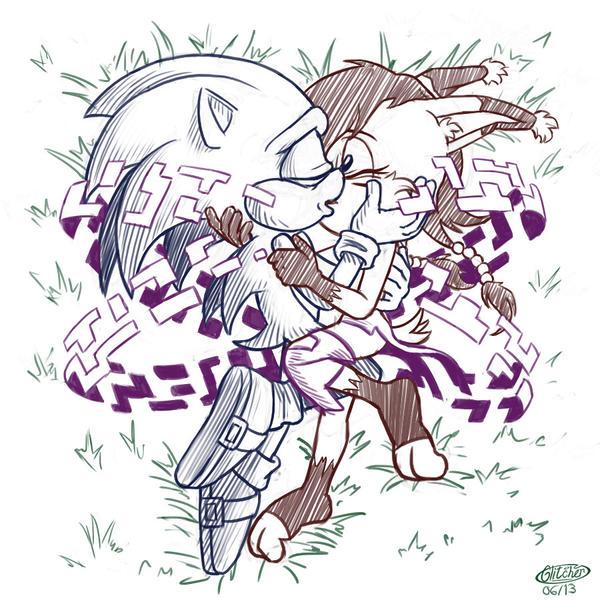 COMM: Sonic X Nicole by glitcher