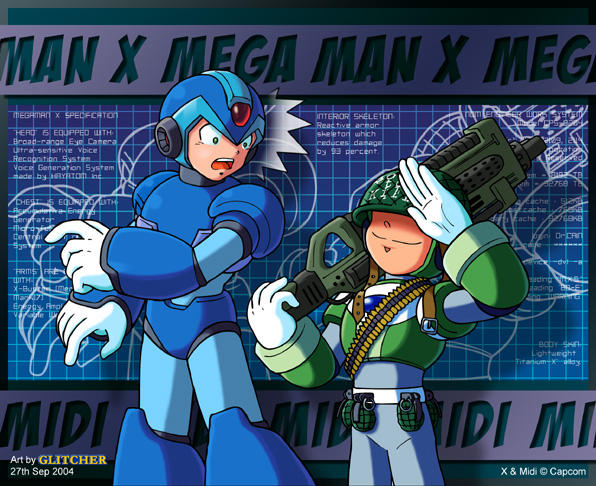 X and Midi by glitcher