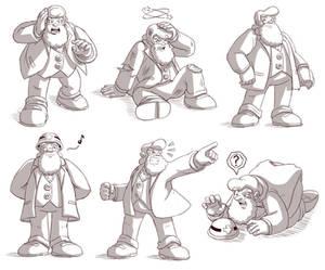 Dr. Light sketches