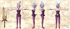 Battle Bunny Riven model sheet
