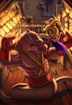 COMM: Peppi Girl VS. The Slugger